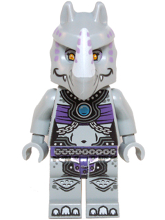 New Genuine LEGO Rogon Rhinoceros Minifig Legends of Chima 70131 70133