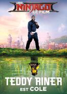 Poster Ninjago Movie Teddy Riner