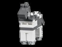 Grey Minecraft Horse