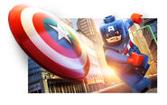 LEGO Marvel Super Heroes Render Captain America