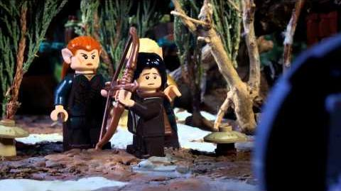 LEGO The Hobbit Bard the Bowman The Beginning