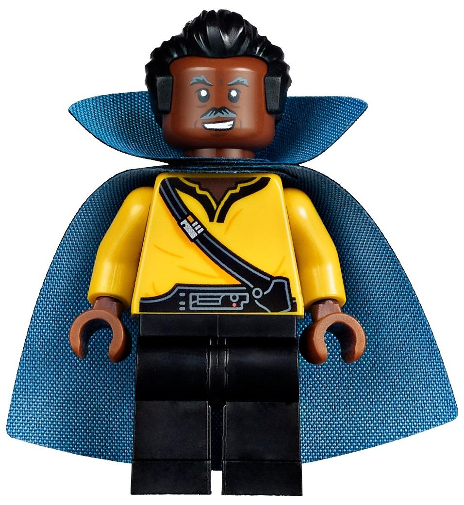 LEGO STAR WARS FIGUR # LANDO CALRISSIAN GENERAL OUTFIT ORIGINAL CAPE 7754 NEU #