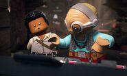 Lando with Maz Kanata