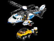 3658 L'hélicoptère de police