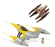 7660 Naboo N-1 Starfighter and Vulture Droid