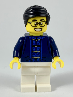 Lego Father Minifigure from set 80101 Chinese New Year/'s Eve Dinner NEW hol142