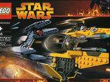 Jedi Starfighter and Vulture Droid 7256
