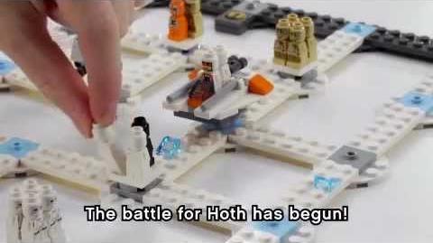 LEGO Games Star Wars La bataille de Hoth 3866