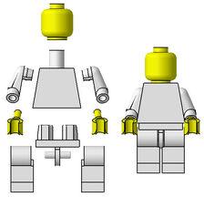 Minifig-parts