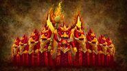 Phénix de la Grande Illumination-L'épreuve du feu