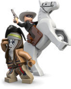 Tonto, Lone Ranger et Silver
