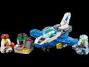 60206 Le jet de patrouille de la police