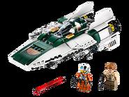 75248 A-wing Starfighter de la Résistance