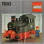 Push-Along Steam Engine