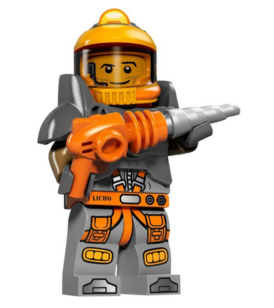 Series 12 100/% Complete Lego Space Miner Collectible Minifig Figure