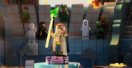 Vitruvius give a speech
