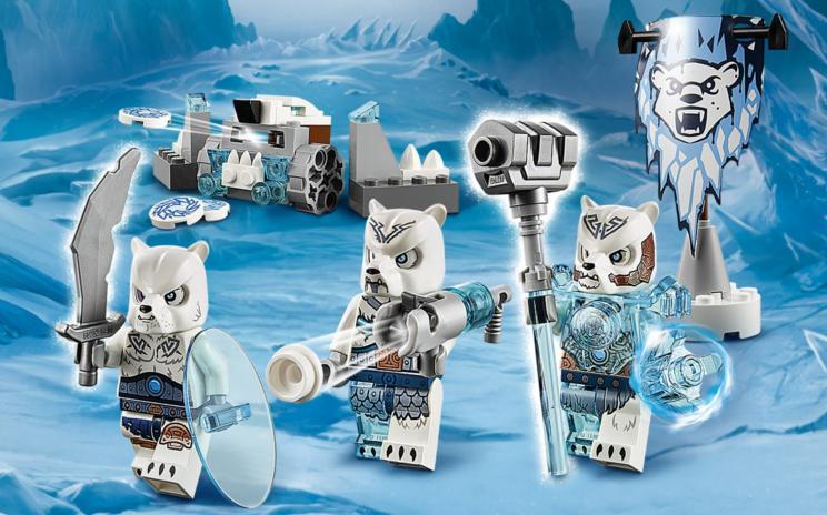 70230 la tribu ours des glaces wiki lego fandom - Lego chima saison 2 ...