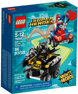 76092 Mighty Micros- Batman vs