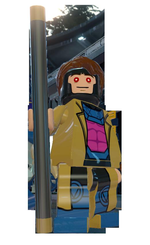 Lego GREEN PHOENIX Custom Printed Minifig Marvel X-Men Mutant Jean Grey