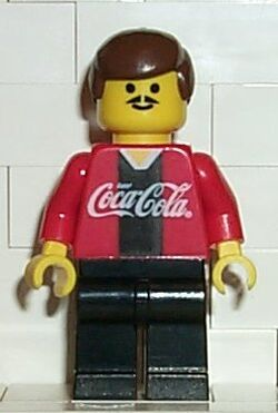 Coca Cola Soccer Player