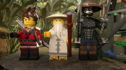 Master Falls - LEGO NINJAGO Movie - 70608 - Product Animation