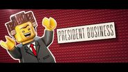 The LEGO Movie Présentation-President Business