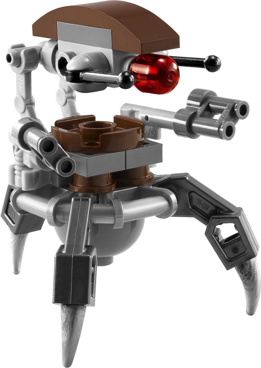 NEW LEGO 75092 Star Wars Naboo Starfighter Set *NO MINIFIGURES* w// 2 Droidekas