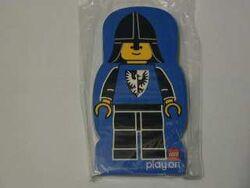 4229617-Memo Pad Minifig - (I) Black Falcon