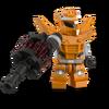 Compagnon robot orange