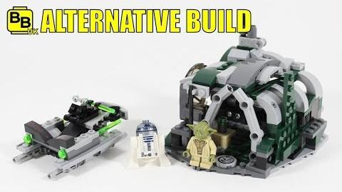 LEGO STAR WARS 75168 ALTERNATIVE BUILD YODA'S DAGOBAH HUT