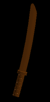 Wood Katana