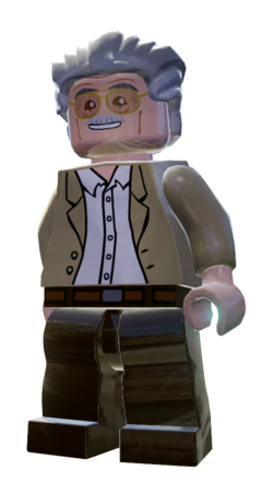marvel lego kingpin stan lee