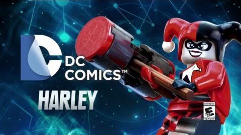 Character Spotlight Harley Quinn LEGO Dimensions