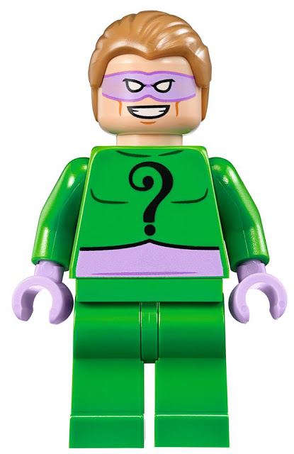 Head Gear New lot 5 Lego Green HATS Super Heroes Batman The Riddler Minifigure