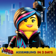 The LEGO Movie Wyldstyle 3