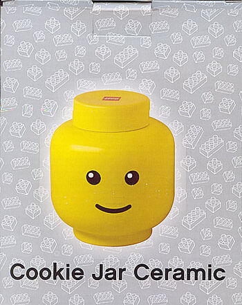 4541569 Cookie Jar Ceramic Minifig Head Brickipedia