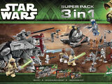 66473 Star Wars Super Pack 3 in 1