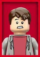 Jurassic World LEGO Zach icon