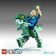 LEGO Dimensions Docteur Vélociraptor