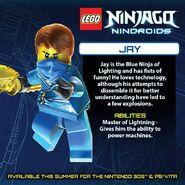 LEGO Ninjago Nindroids Jay