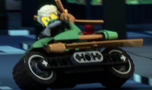 LEGO® Ninjago™ Techno Robe Cole w//Sword 2014
