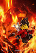 The LEGO Ninjago Movie Poster Kai