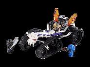 2263 Le dragster squelette
