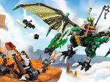 70593 Le dragon émeraude de Lloyd