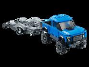 75875 Ford F-150 Raptor et le bolide Ford Modèle A 4
