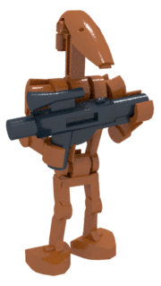Battle Droid Render Geonosis