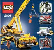 Katalog produktů LEGO® za rok 2005-01