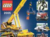 Katalog výrobků LEGO pro rok 2005