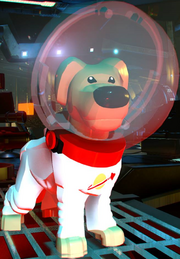 LEGO Cosmo the Space-Dog