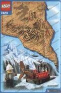 Mountain sleigh back